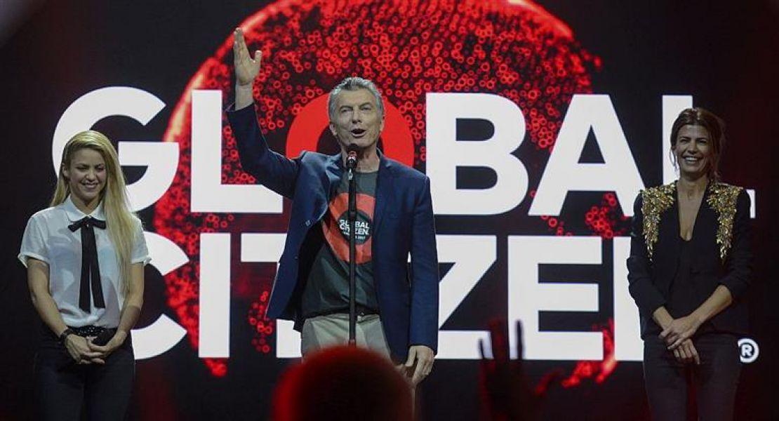 Mauricio Macri bailó y habló de fútbol en un festival junto a Shakira, previo a la Cumbre del G-20.
