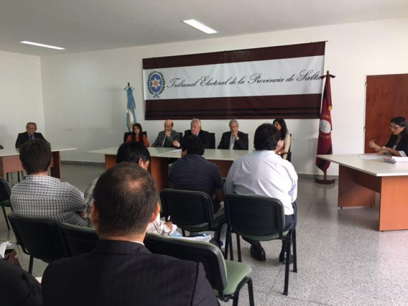 Resolusión del Tribunal Electoral de la Provincia contra las listas de Primero Salta.