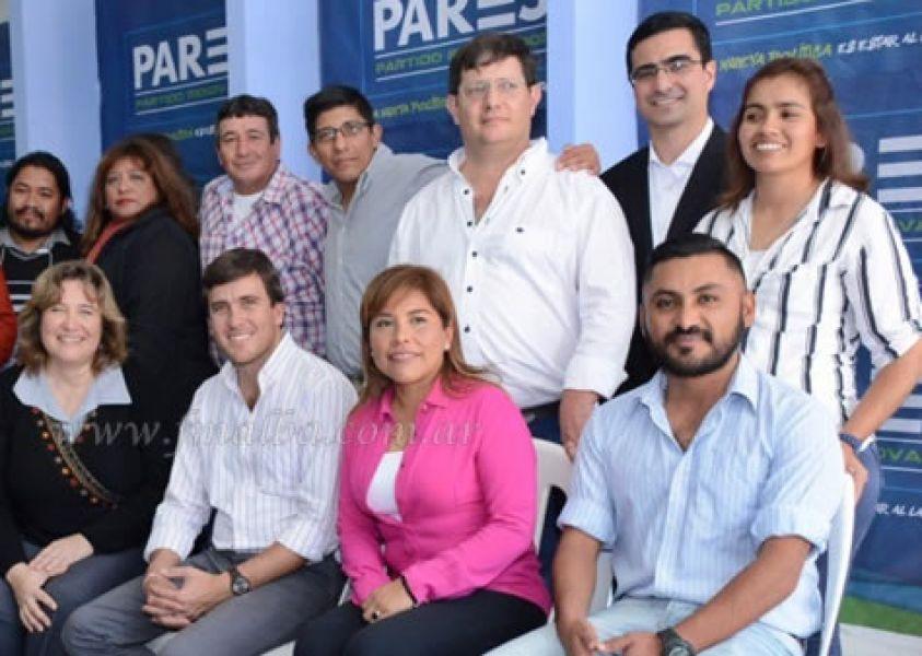 Algunos de los candidatos de la lista de PARES.