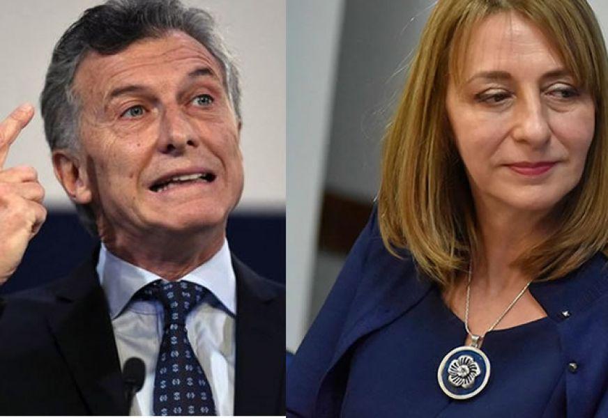 """Mauricio Macri dice de Gils Carbó que ella """"hace un uso indebido del enorme poder que tiene""""."""