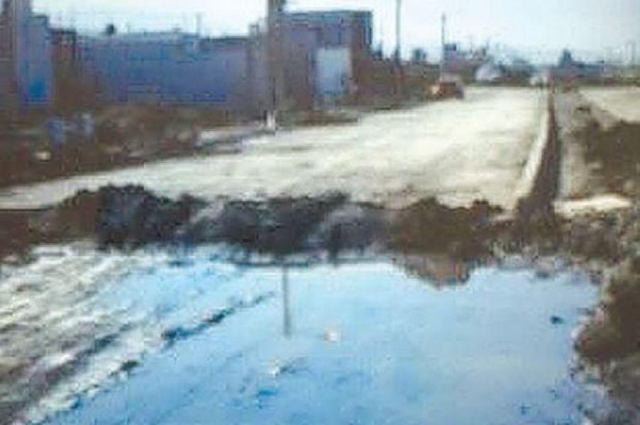 A los problemas de agua y de seguridad se suma el desborde de cloacas en el barrio ex Pereyra Rozas.