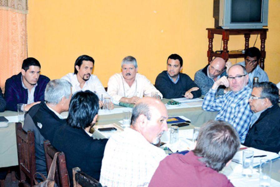 El Gabinete sesionó en General Ballivian, una localidad del departamento San Martín.
