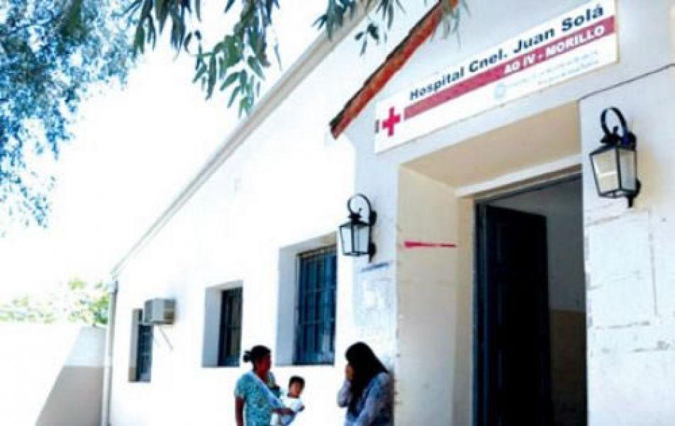 Trabajadores del hospital de Morillo protestan por precarización laboral y la falta de cobertura de 9 vacantes.