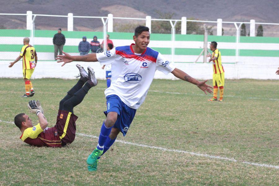 Escalante selló la goleada del Tricolor en el estadio de la Liga.