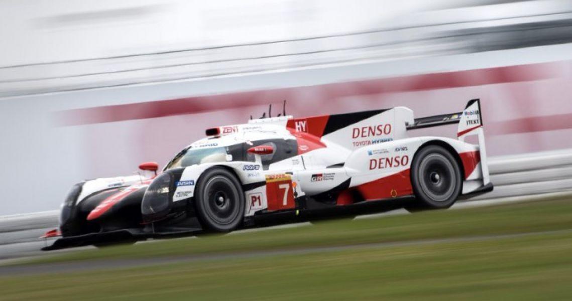 El Toyota Hibrido de López - Kobayashi y Conway, que resultó tercero en Nurbrugring.