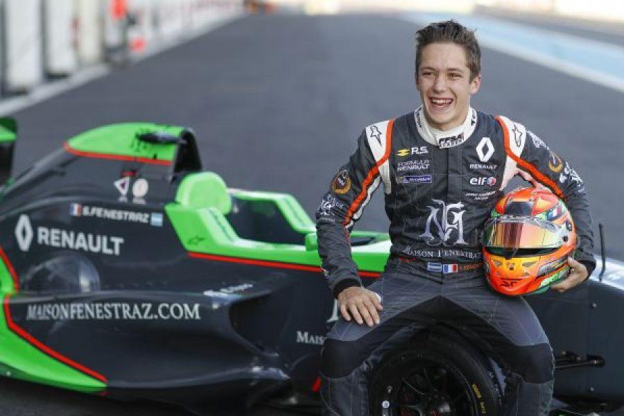 Fenestraz, ganó en Nurburgring y se acerca a la punta del torneo de la Fórmula Renault 2,0 Eurocup.