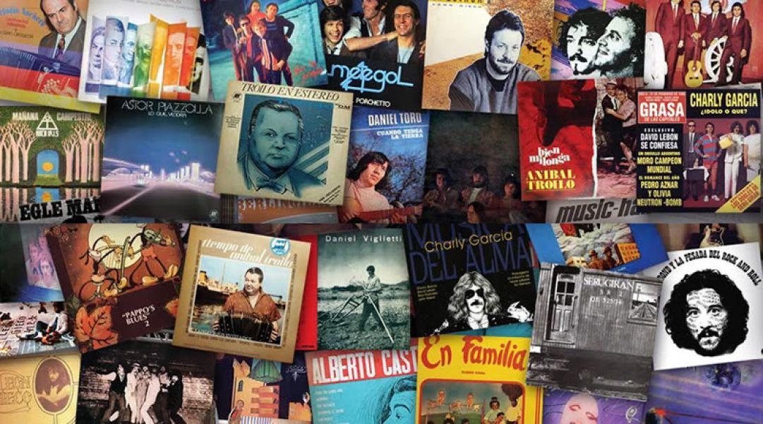 Obras emblemáticas de nuestra música popular argentina recuperadas del sello Music Hall, entre las que están los discos de Daniel Toro.