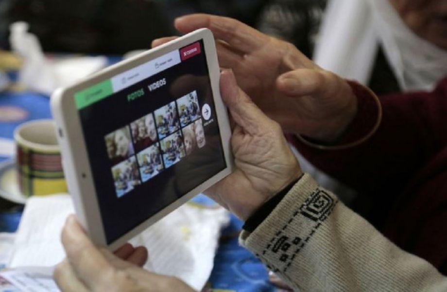 A diferencia de otras tablets, tiene accesos directos a los portales de ANSES, PAMI, Municipalidad, entre otros organismos.