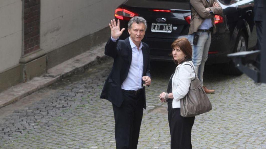 Tras el cónclave en Casa de Gobierno trascendió que Marci respaldó la actuación de la ministra Patricia Bullrich.