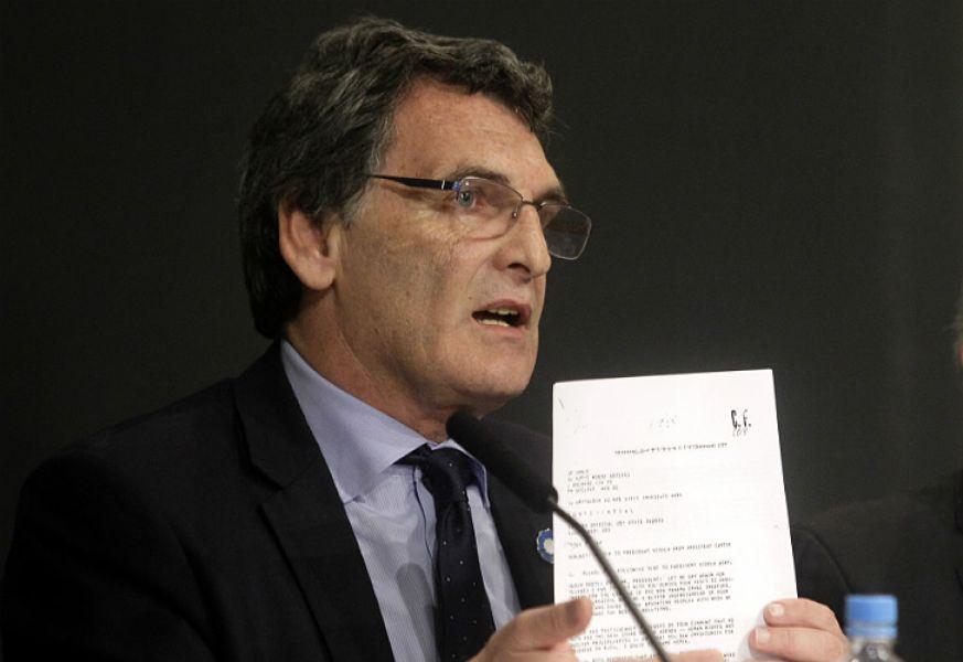 """El secretario de Derechos Humanos de la Nación, Claudio Avruj, reconoció que """"las hipótesis más fuertes apuntan a Gendarmería""""."""