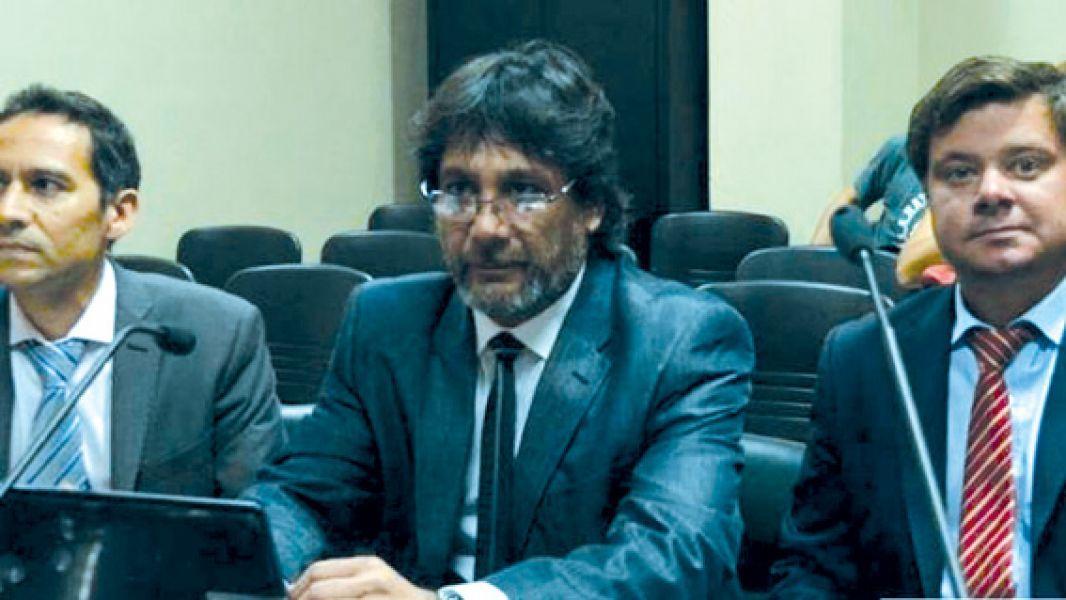 Los fiscales Carlos Amad y Francisco Snopek.