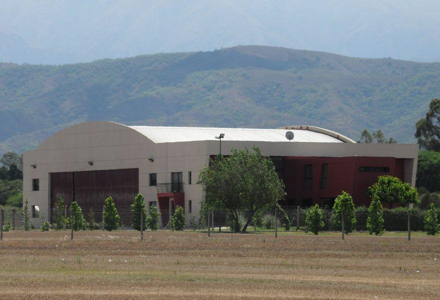 El hangar que inició  la causa  judicial