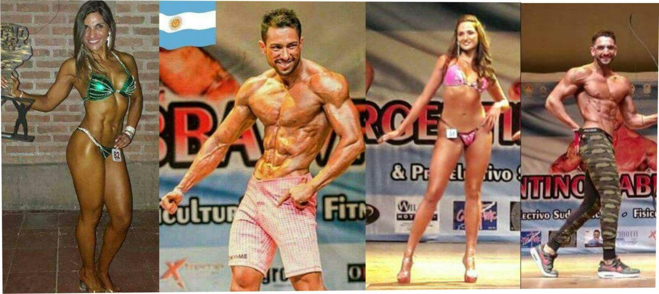 Silvana Mangongnia, Elias Vujovich, Rita Véliz y Martin Nuesch, algunos de los salteños que participarán en Bolivia
