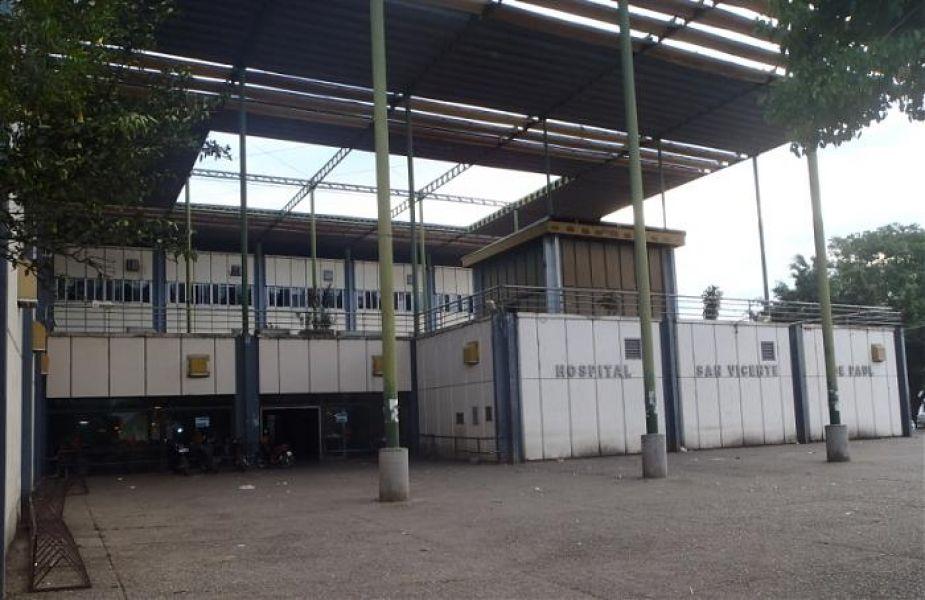 En el hospital San Vicente de Paul de la ciudad de Orán permanece internado el otro policía