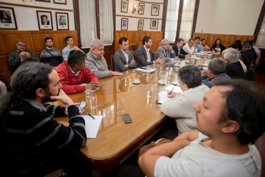 El diputado del PO Pablo López fue el único diputado nacional interesado en las leyes antidesalojos.