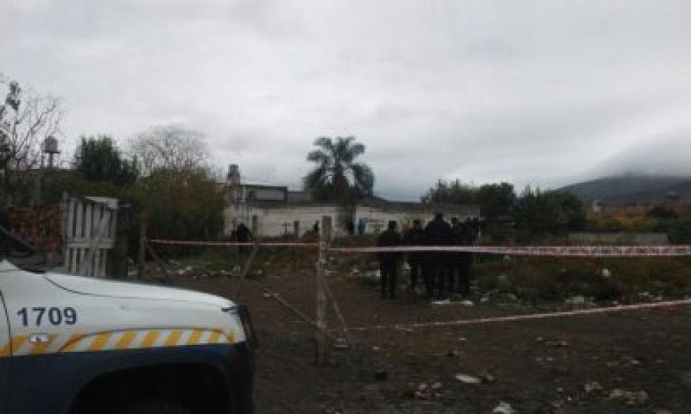 Una vivienda de Villa Lavalle donde fue encontrada sin vida Marisa Subelza en mayo último.