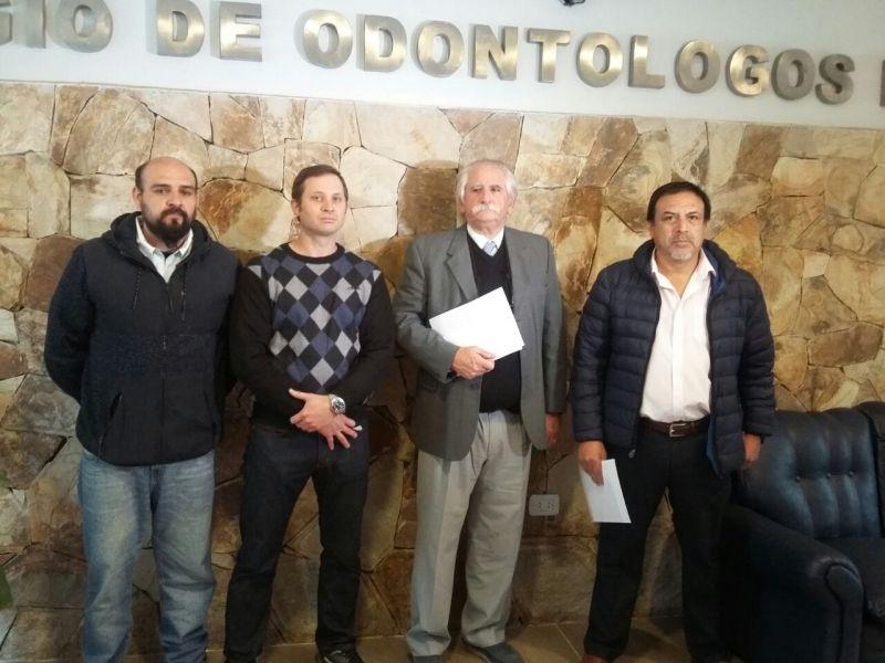Miembros de la Junta Electoral, de la mesa directiva y lista opositora.
