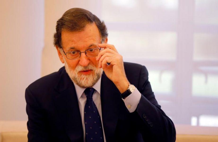 """Para Rajoy, el regreso a la legalidad debe pasar también por """"suprimir"""" el proyecto de hacer una declaración unilateral de independencia."""