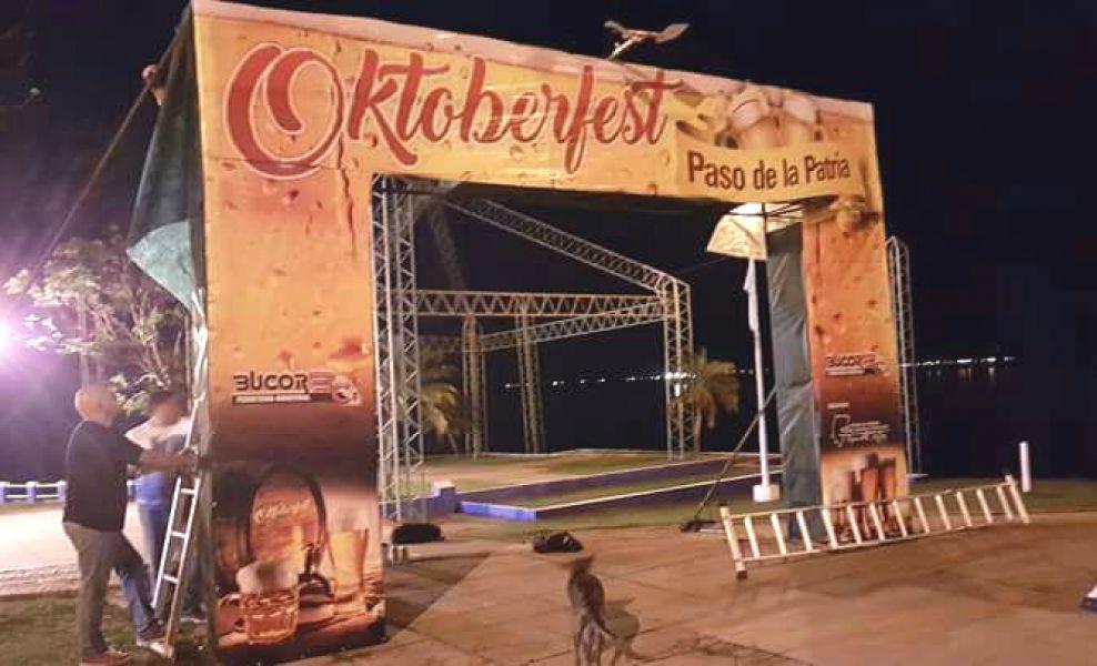 Una de las oktoberfest que realizan grupos cerveceros del litoral de Chaco, Formosa, Corrientes y Misiones. (Foto ilustrativa).