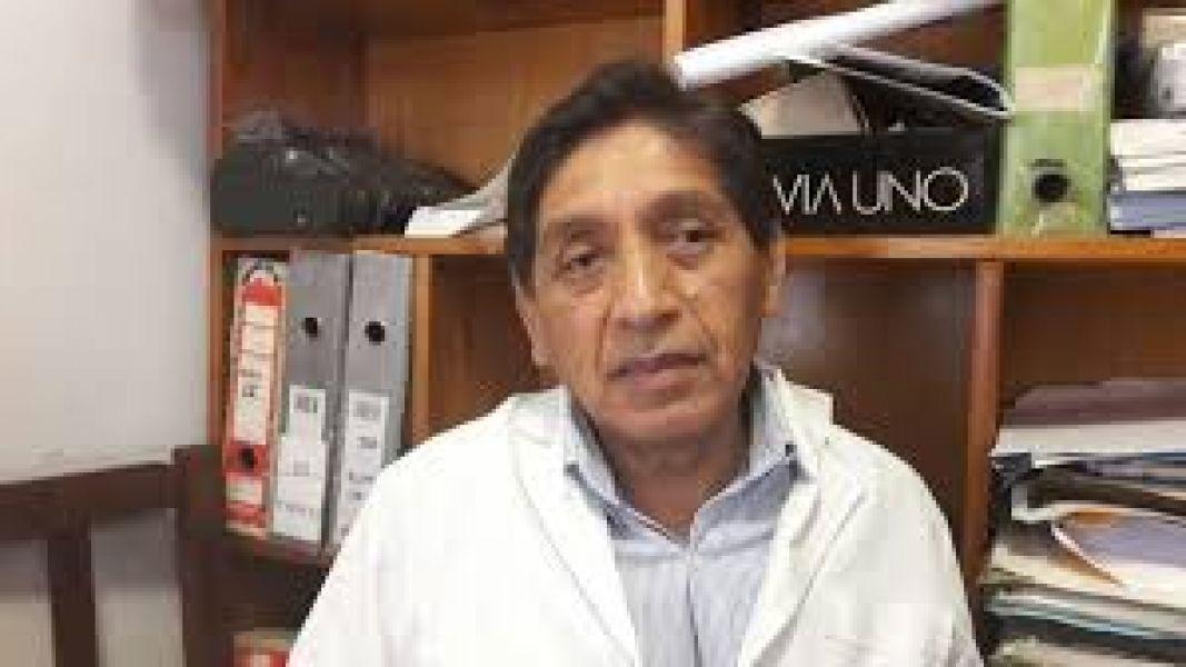 Justino Ustarez, presidente de la asociación que nuclea a los médicos del Hospital Materno Infantil (ASPRHOMIN).