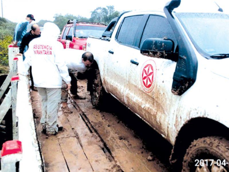 El grupo no suspende sus operativos, aunque haya mal tiempo (Foto: Enashu).