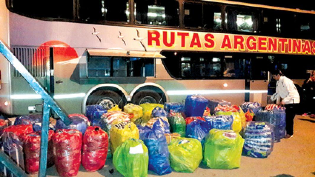 Del secuestro de la mercadería ilegal el avalúo supera los 12 millones de pesos.