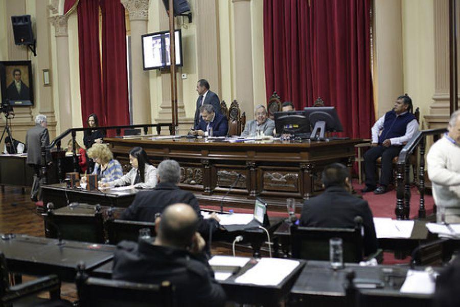 La sesión adelantada de Diputados se debe al partido que esta noche disputarán Ecuador y Argentina.