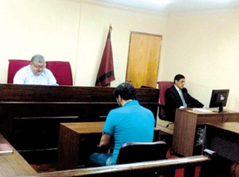 Sala II del Tribunal de Juicio de Orán.