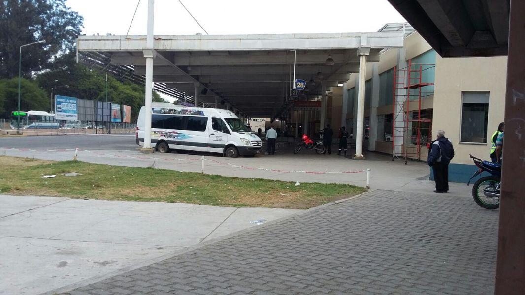 Esta madrugada la terminal fue evacuada totalmente.