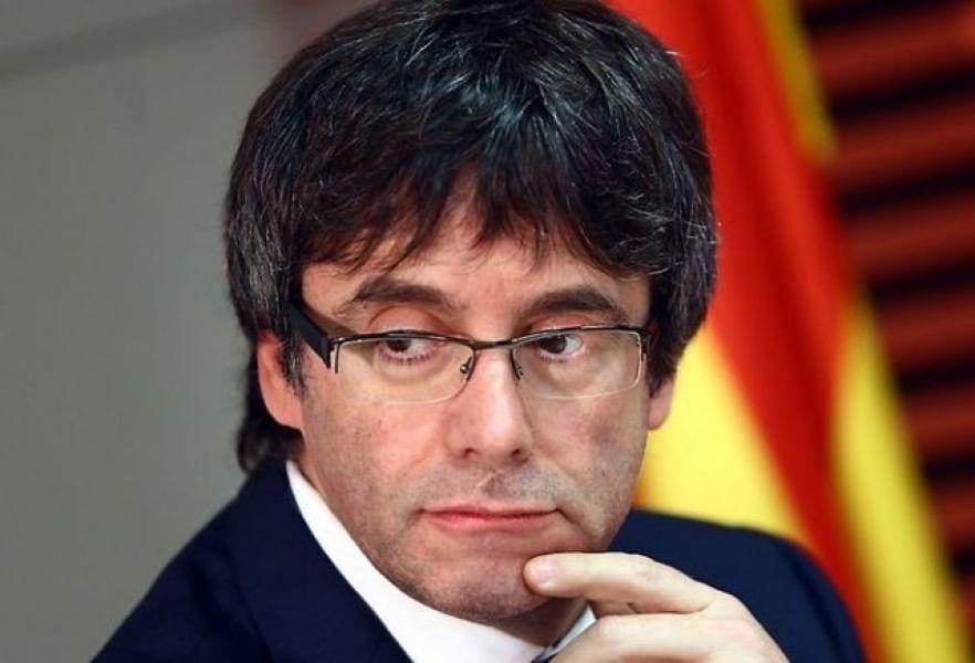 Carles Puigdemont, el presidente destituido de la Generalitat de Cataluña ya no está en España.