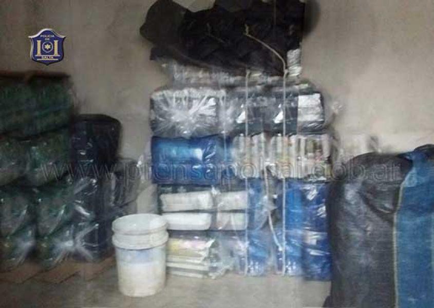 El secuestro de la droga en Orán se produjo ayer en horas de la tarde.
