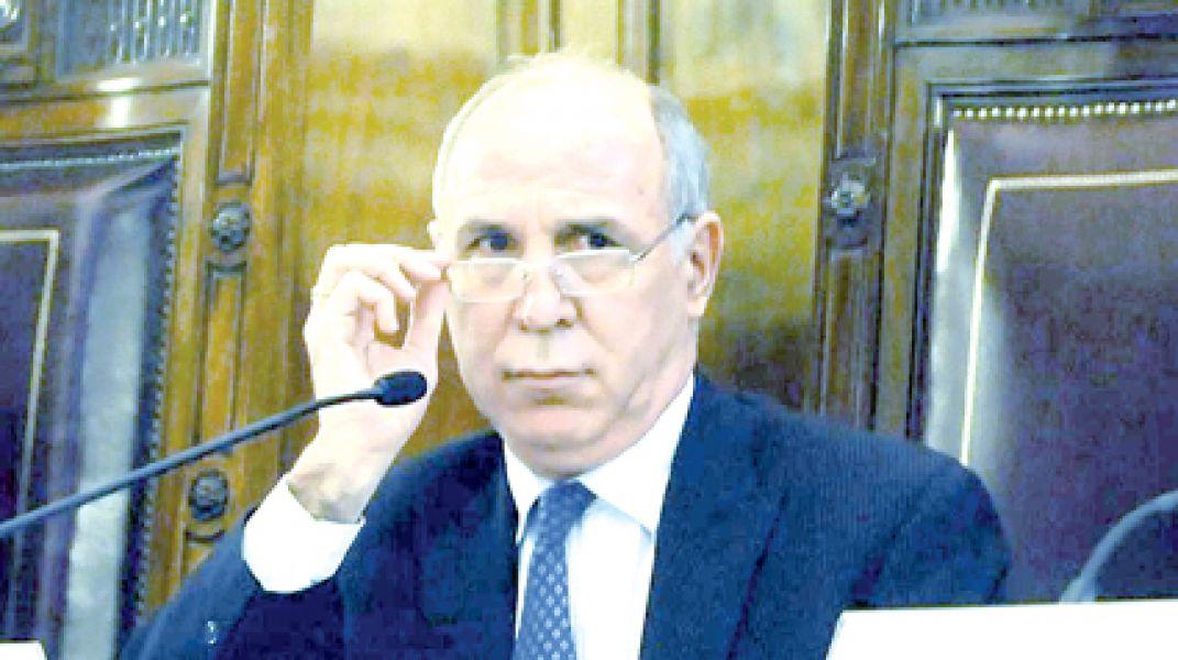 Ricardo Lorenzetti, presidente de la Corte Suprema.