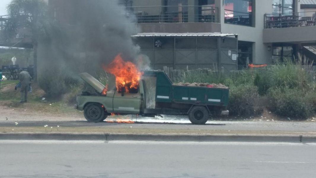 El siniestro ocurrió en avenida Perón, camino a San Lorenzo