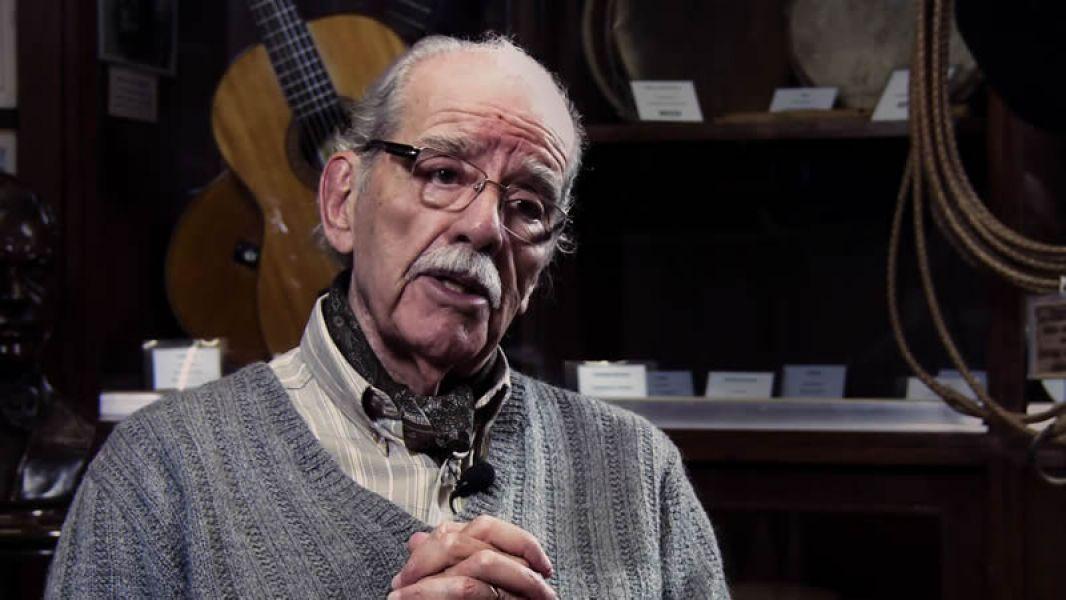 """Documental sobre el compositor y músico Ramón Navarro un riojano que integró durante 11 años """"Los Cantores de Quilla Huasi""""."""