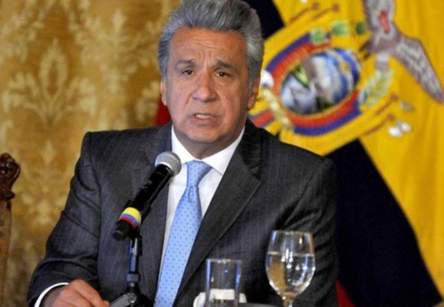 """Lenin Moreno, presidente de Ecuador dijo: """"Hoy empieza la construcción del futuro que soñamos para nuestros hijos. Vamos por un SI rotundo""""."""