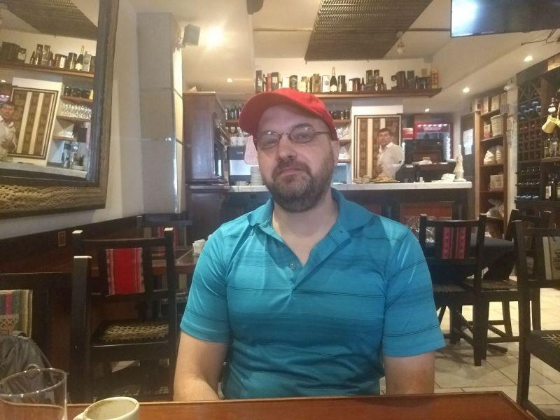 """Adrian Rocha, dirctor de """"Mundo Limpio"""", filme del cine independiente que puede verse aquí o través del canal de You Tube."""