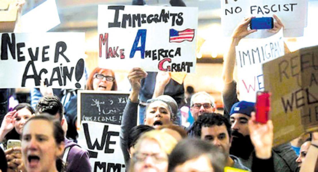La prohibición de migrantes a EE.UU. es para Chad, Irán, Libia, Somalia, Siria y Yemen.