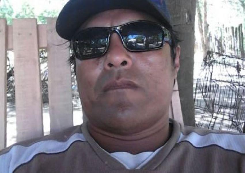 El cacique Modesto Rojas. Reclama al Ministerio de Asusntos Indígenas el avance del relevamiento territorial.