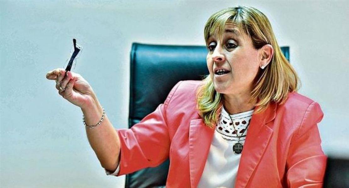 La jueza federal de Caleta Olivia Marta Yáñez, tiene a cargo la causa de la desaparición del ARA.