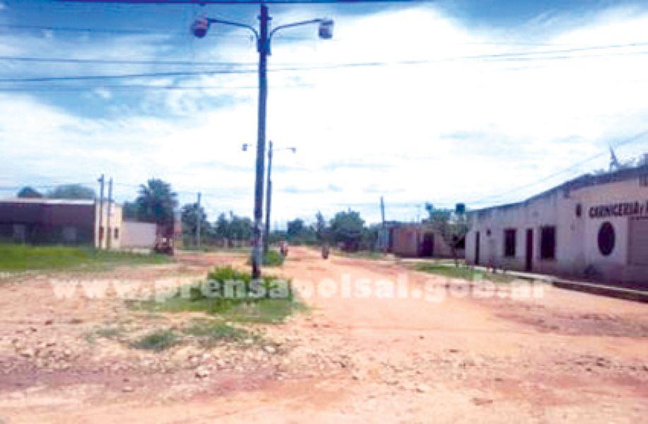 El barrio Municipal de Colonia Santa Rosa fue escenario del asesinato.