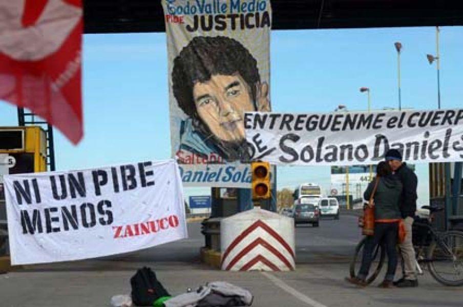 En el Sur persiste el reclamo de aparición del cuerpo de Daniel Solano.