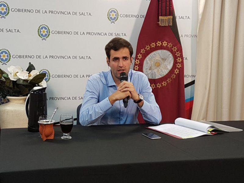 Emiliano Estrada, ministro de Economía.