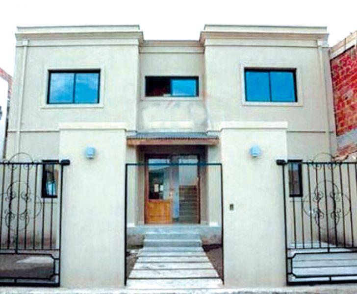 La casa que se vende y que construida con un crédito Procrear