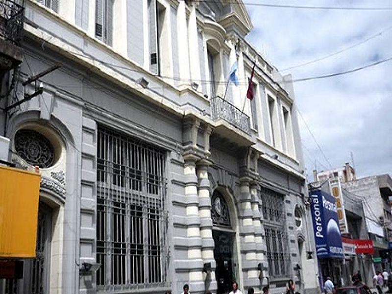 Edificio de la Dirección de Rentas.