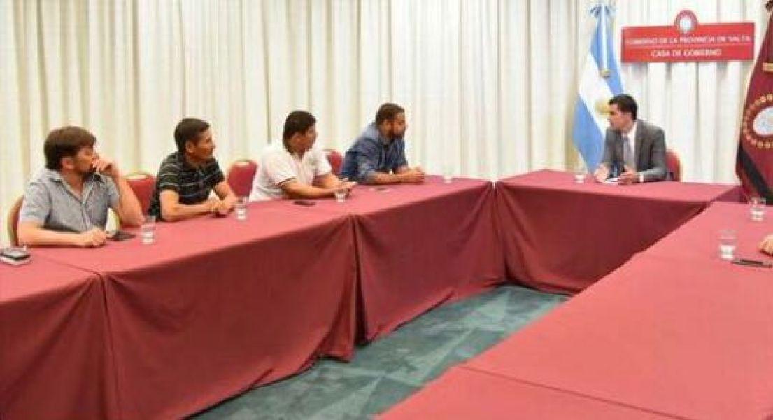 Los referentes del Sindicato de azucareros se reunieron también esta semana con el gobernador Urtubey.