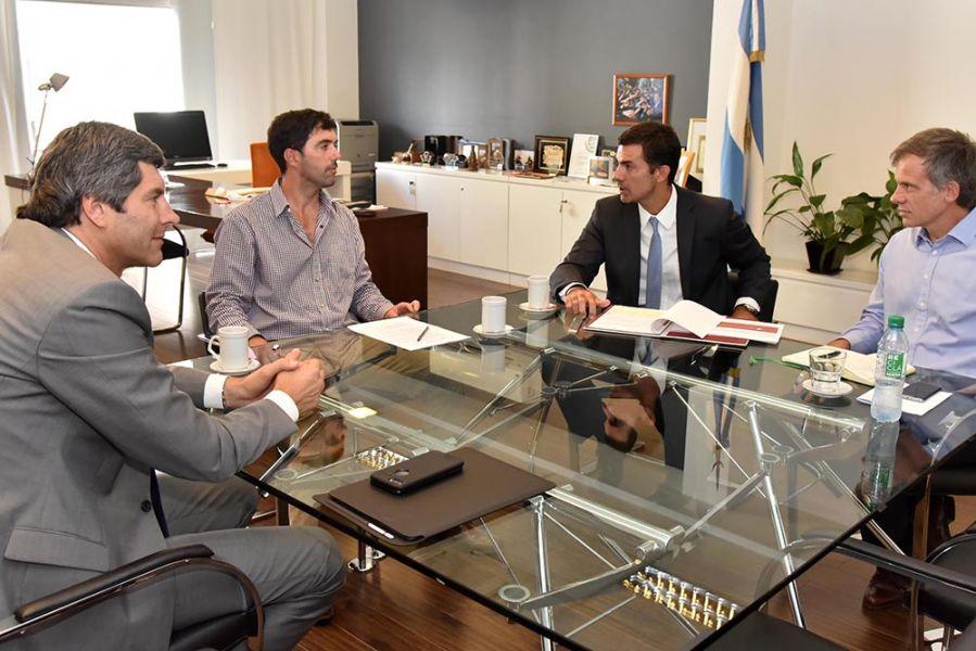 Basavilbaso y Maxit con Urtubey y Yarade avanzan en temas para hacer efectivas las jubilaciones de los trabajadores provinciales.