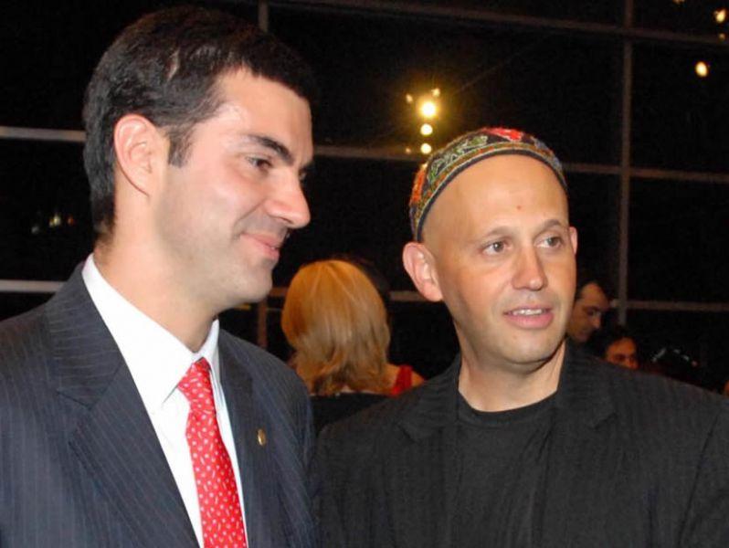 El gobernador Urtubey y Sergio Bergman, ministro de Ambiente de la Nación.