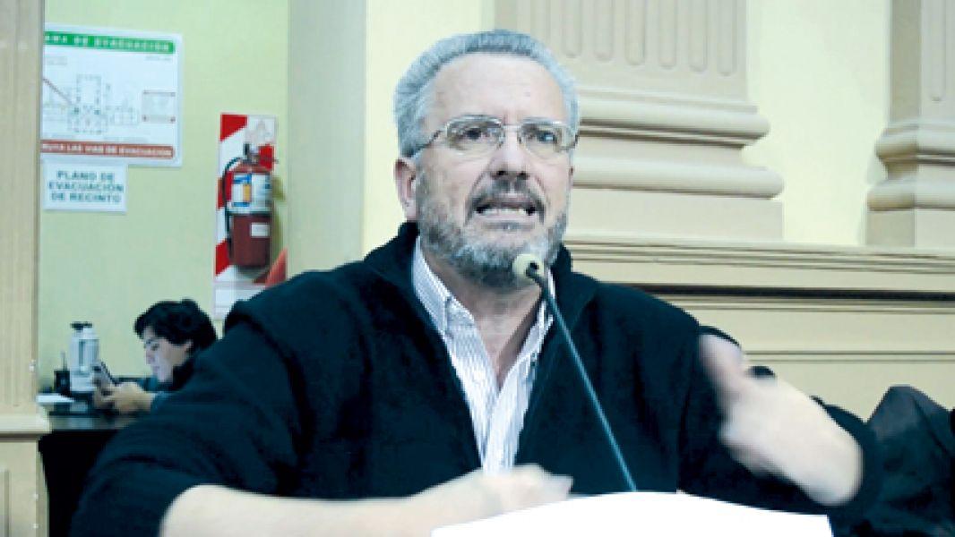 Claudio del Plá, diputado por el PO.