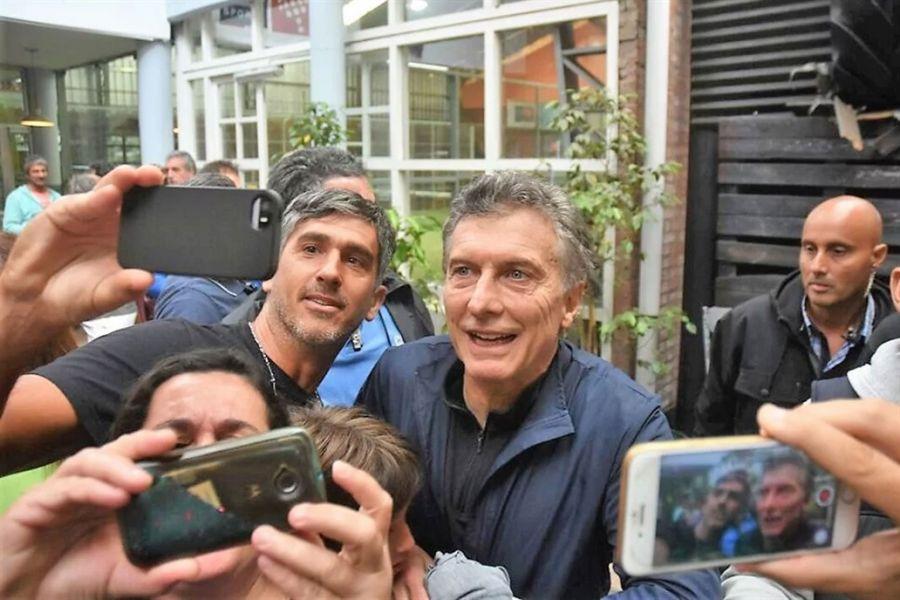 Mauricio Macri en Mar del Plata.