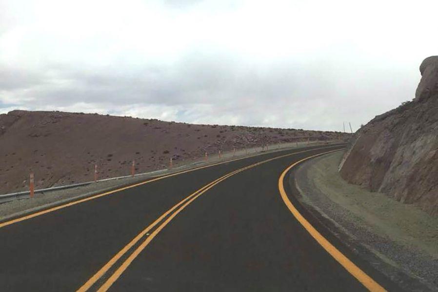 Chile inaugurará el pavimento en la ruta que conecta con el paso de Sico.